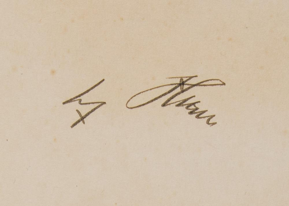 ADOLF HITLER SIGNED ENGLISH COPY OF ''MEIN KAMPF''