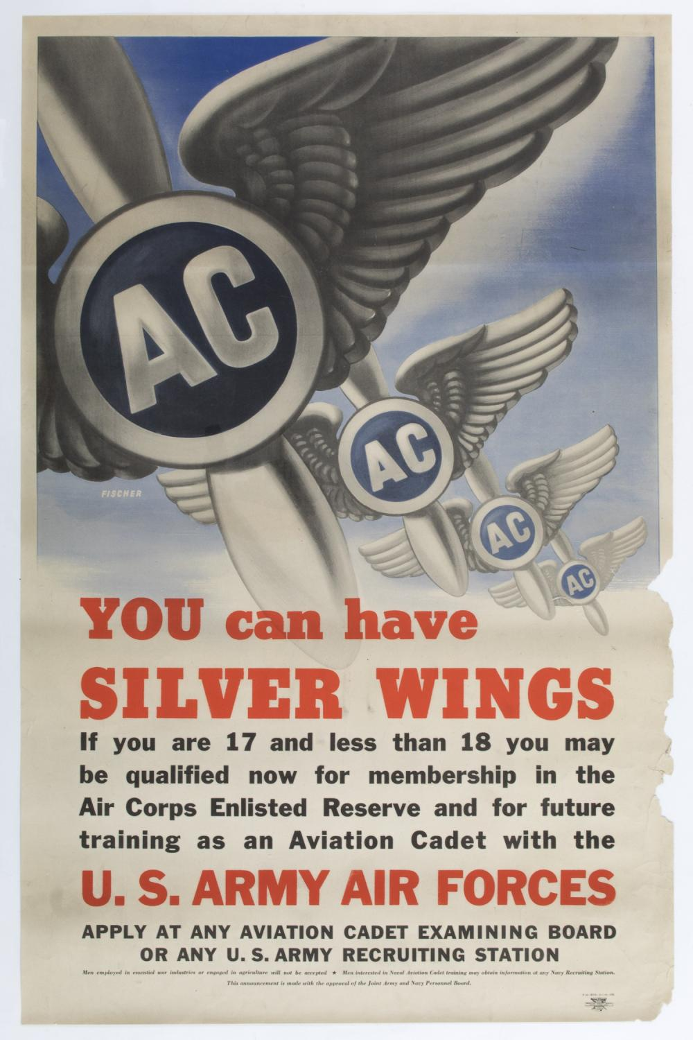 YOU CAN HAVE SILVER WINGS POSTER