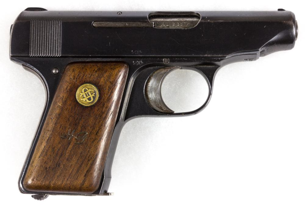 FIELD MARSHAL HUGO SPERRLE''S ORTGIES 6.35MM SEMI-AUTOMATIC PISTOL