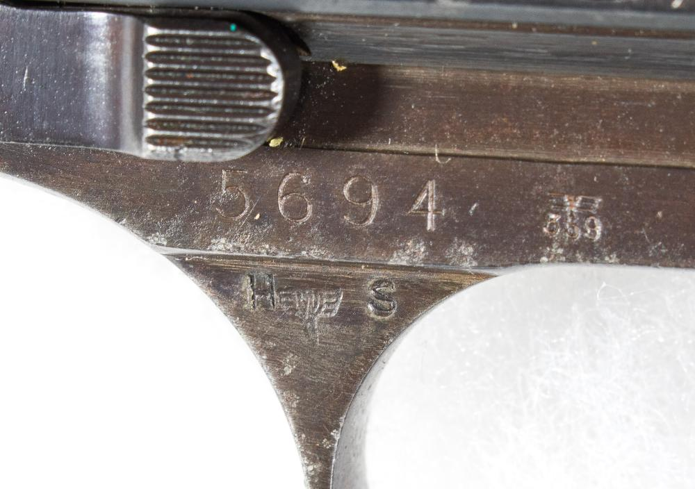 FIELD MARSHAL HUGO SPERRLE''S WALTHER P-38 9MM CUSTOM ENGRAVED PERSONALIZED PISTOL