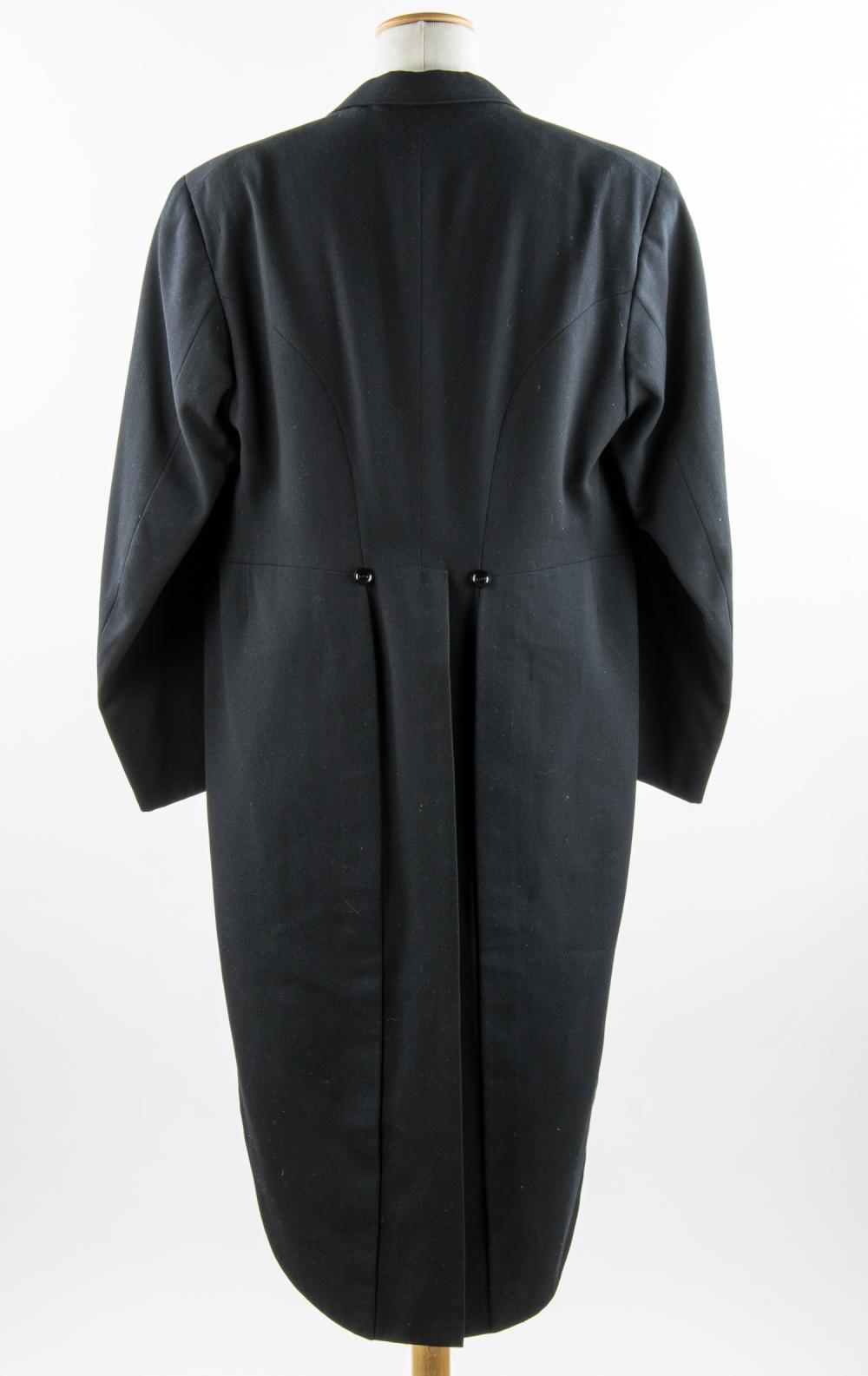 ADOLF HITLER''S BLACK FORMAL FROCK COAT AND TOP HAT