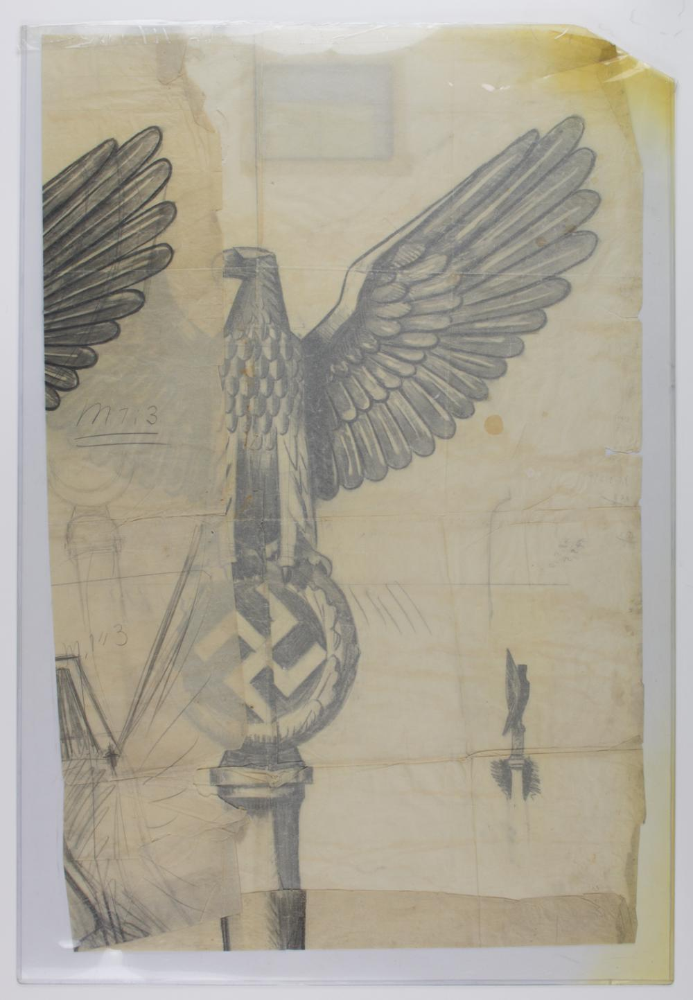 KURT SCHMID EHMEN ARCHIVE - CREATOR OF THE NAZI EAGLE