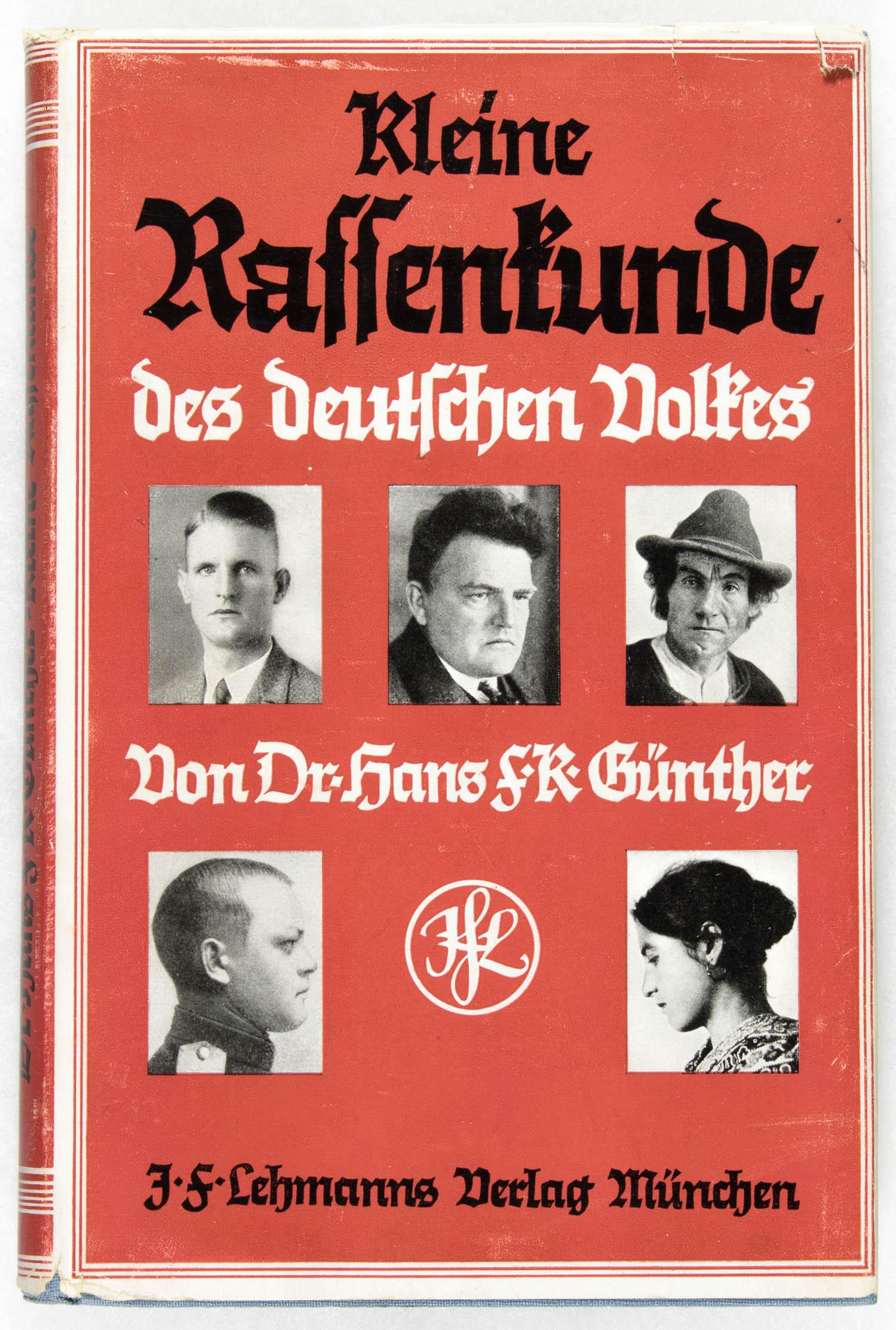 'SHORT ETHNOLOGY OF THE GERMAN PEOPLE'