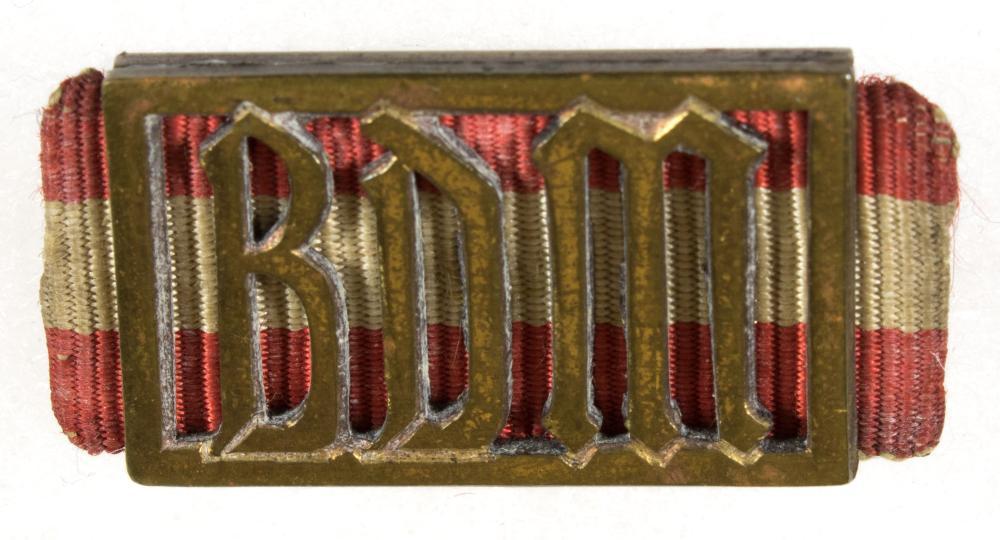 B.D.M. PROFICIENCY BADGE IN BRONZE