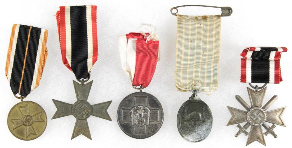 GERMAN MILITARY MEDALS