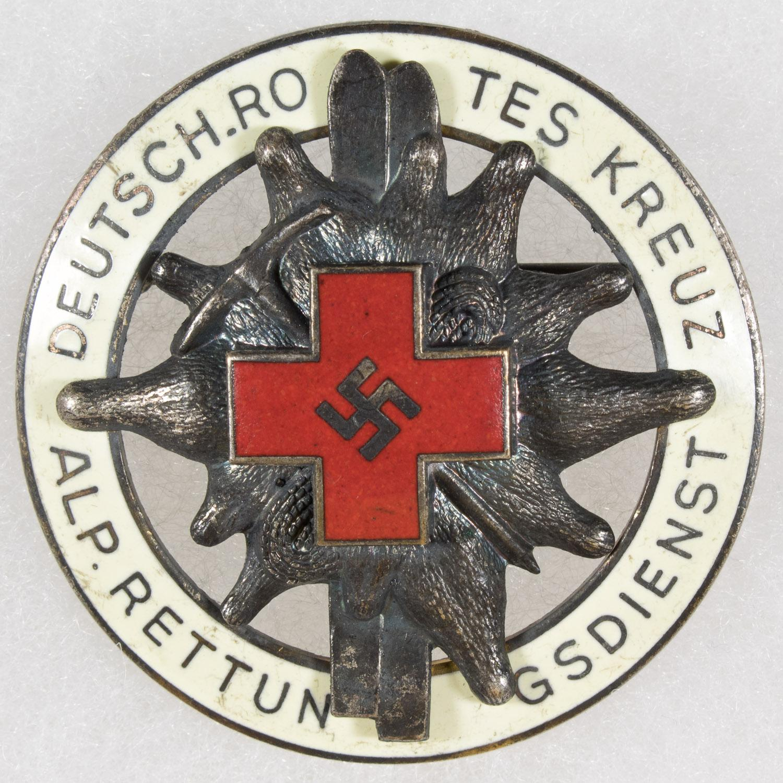 GERMAN RED CROSS ALPINE RESCUE BADGE