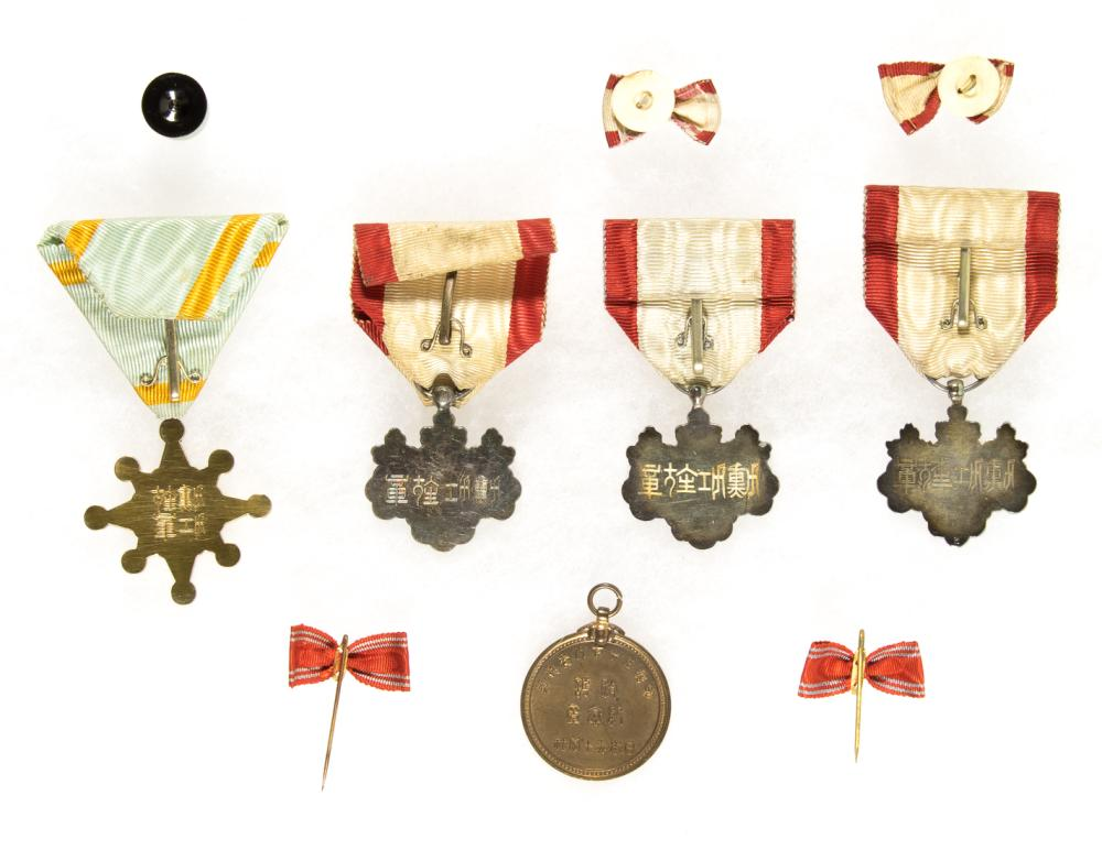JAPANESE MILITARY MEDALS (7)