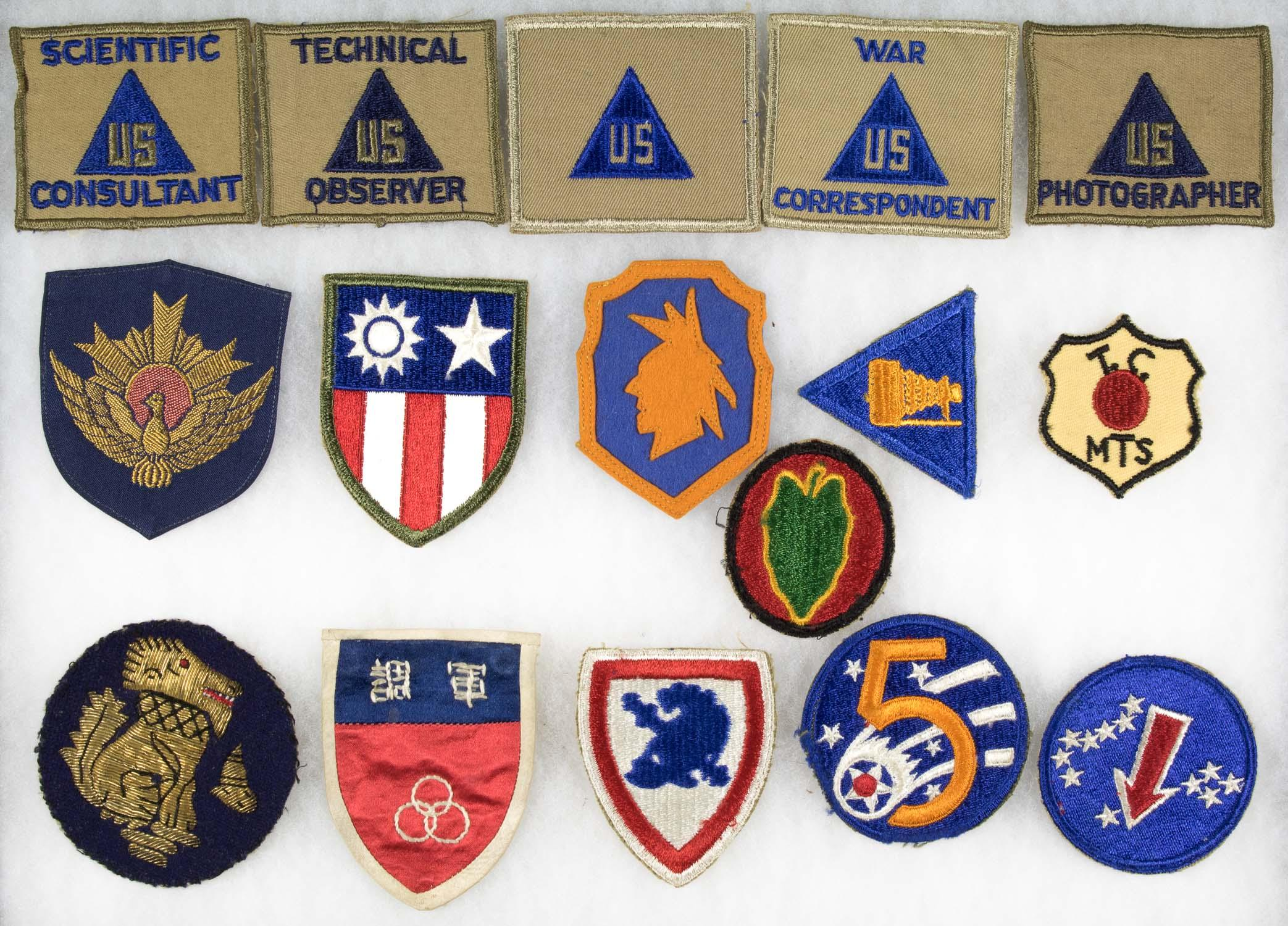 MISC. INSIGNIA GROUPING (16)