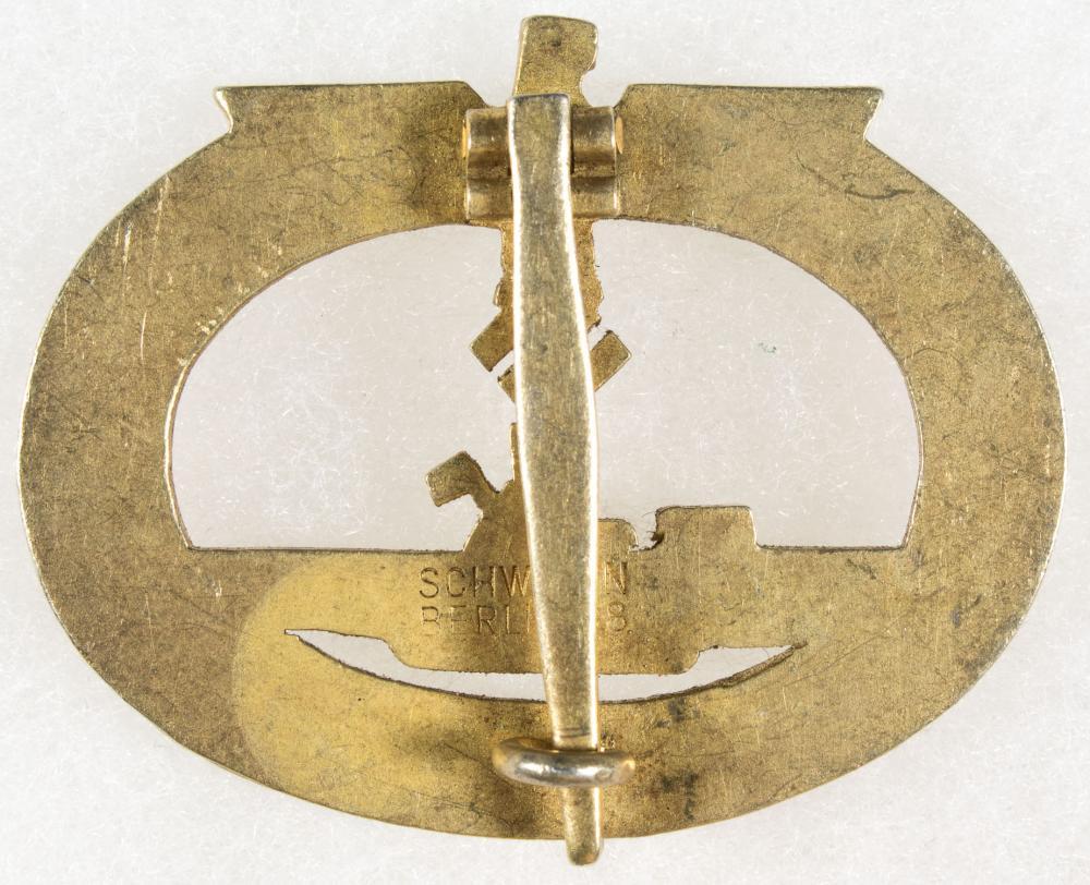 U-BOAT AWARD BADGE