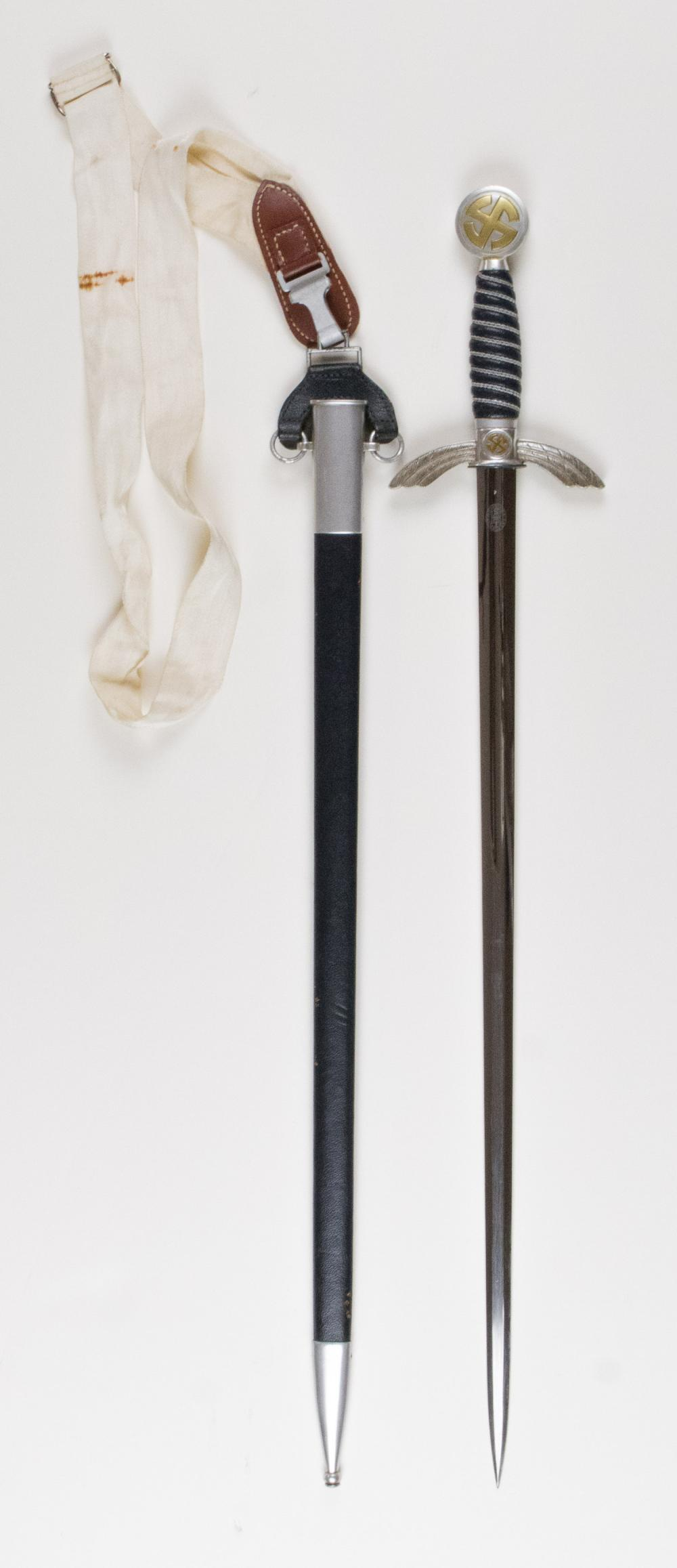 EARLY LUFTWAFFE OFFICER'S SWORD WITH HANGER