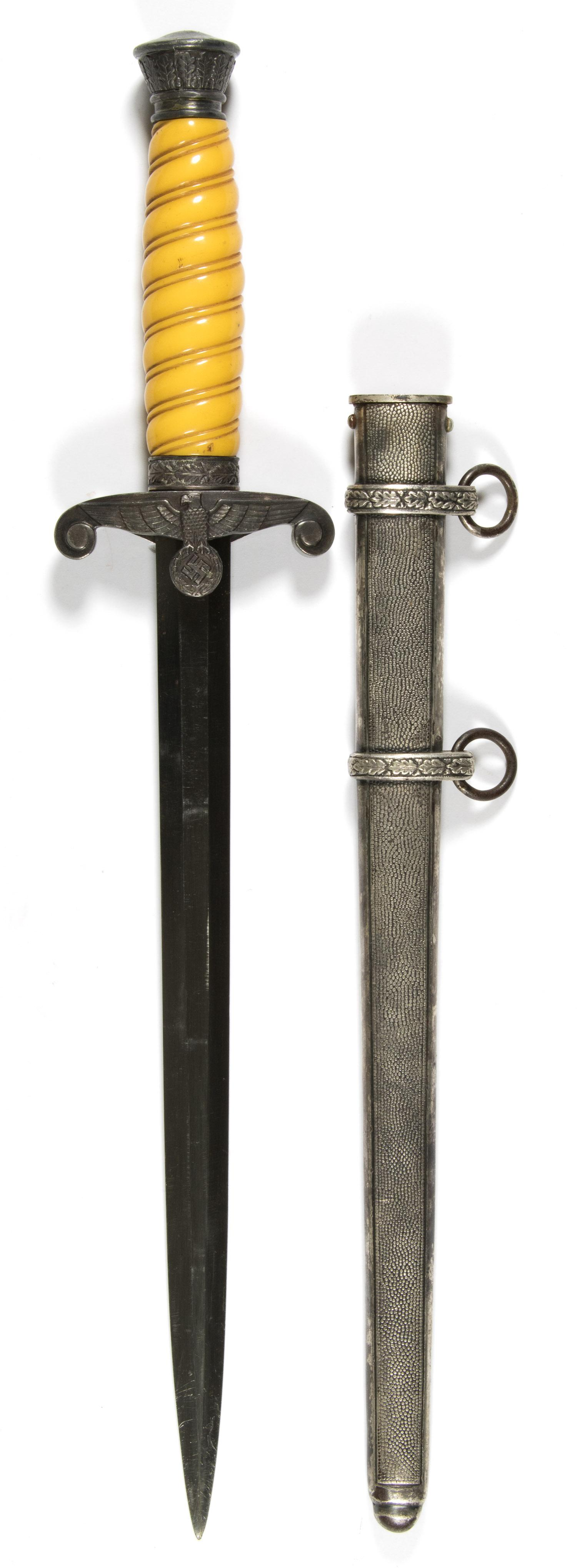 GERMAN ARMY OFFICER'S DAGGER BY CLEMEN AND JUNG