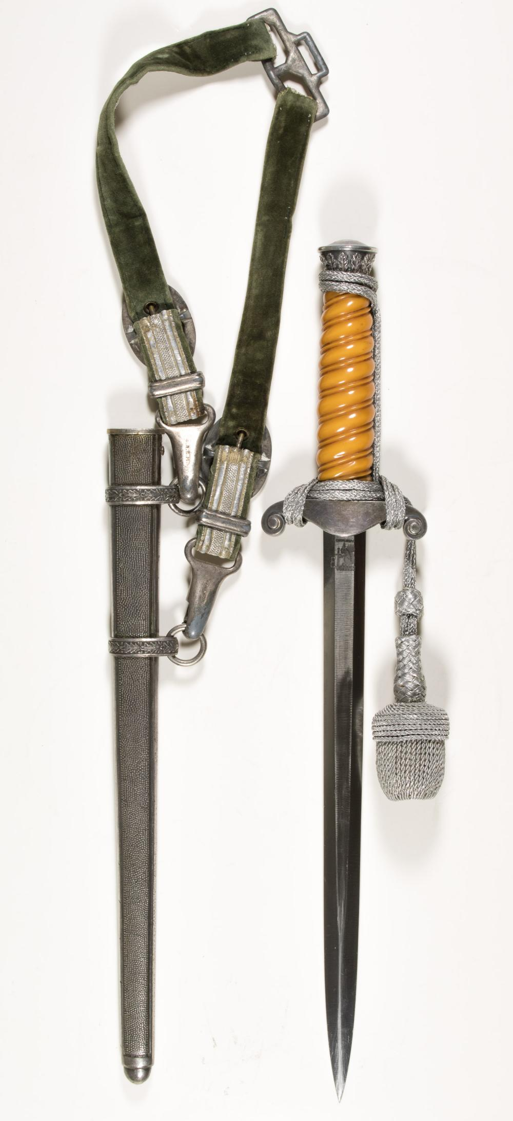 HEER OFFICER'S DAGGER WITH SCABBARD BY EICKHORN