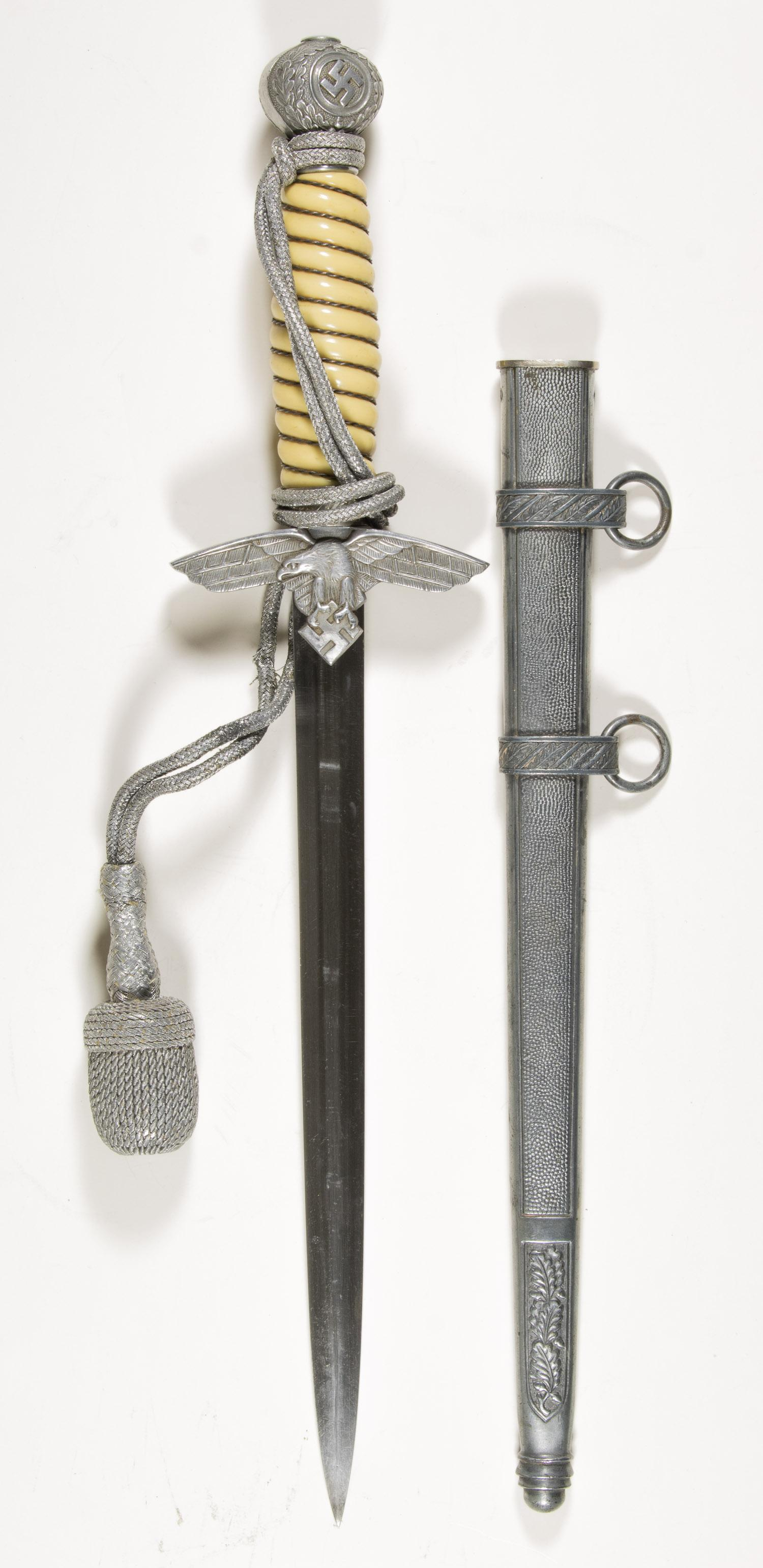 LUFTWAFFE 2ND MODEL DAGGER WITH SCABBARD BY TIGER