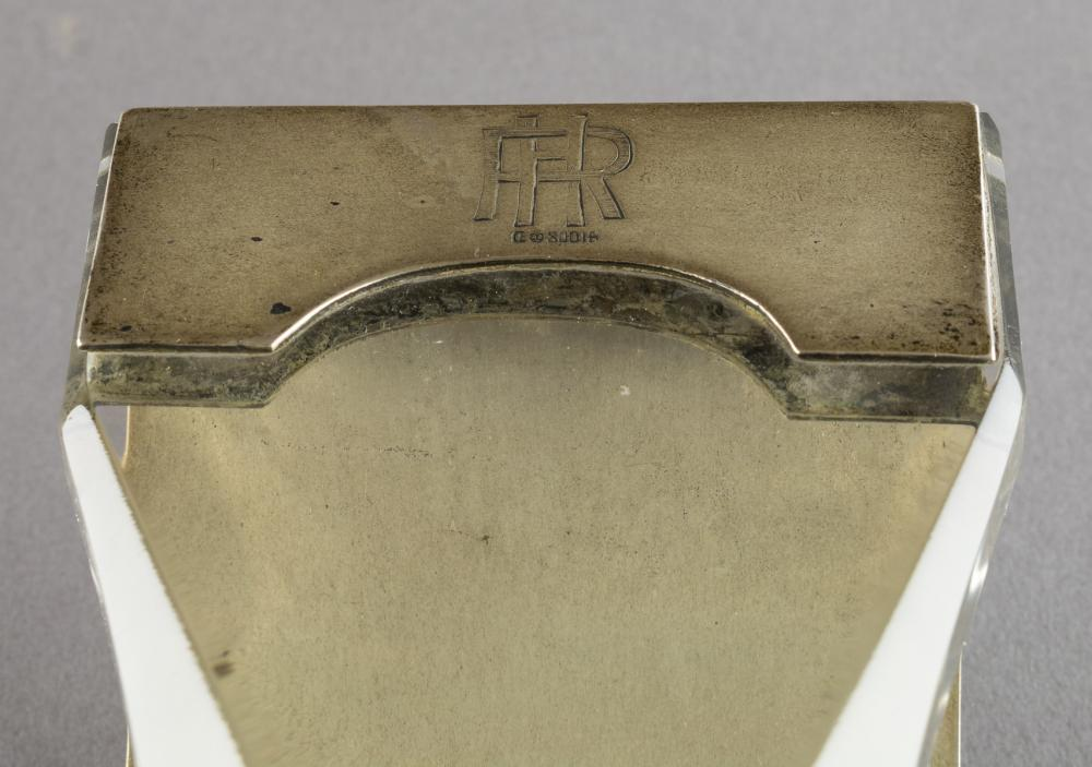 "RUDOLF HESS' PERSONAL ""COBURG"" BLOTTER AND LETTER HOLDER"