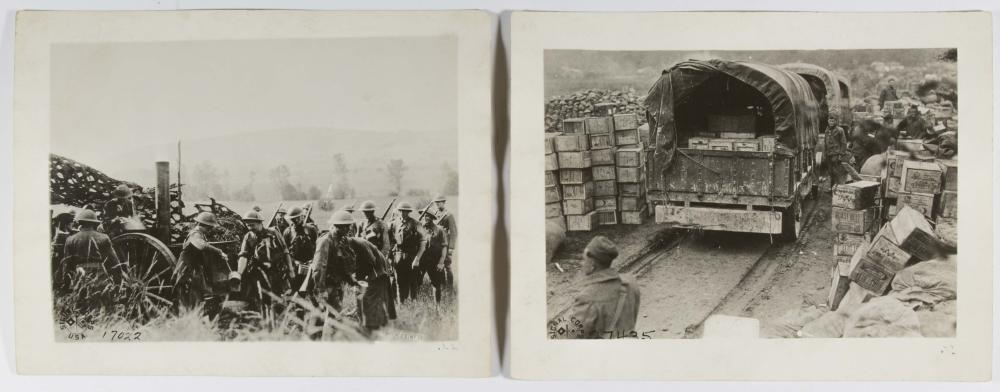 DOUGHBOY'S 'SIGNAL CORPS' PHOTOGRAPHS, ONCE GIFTED TO WEST POINT