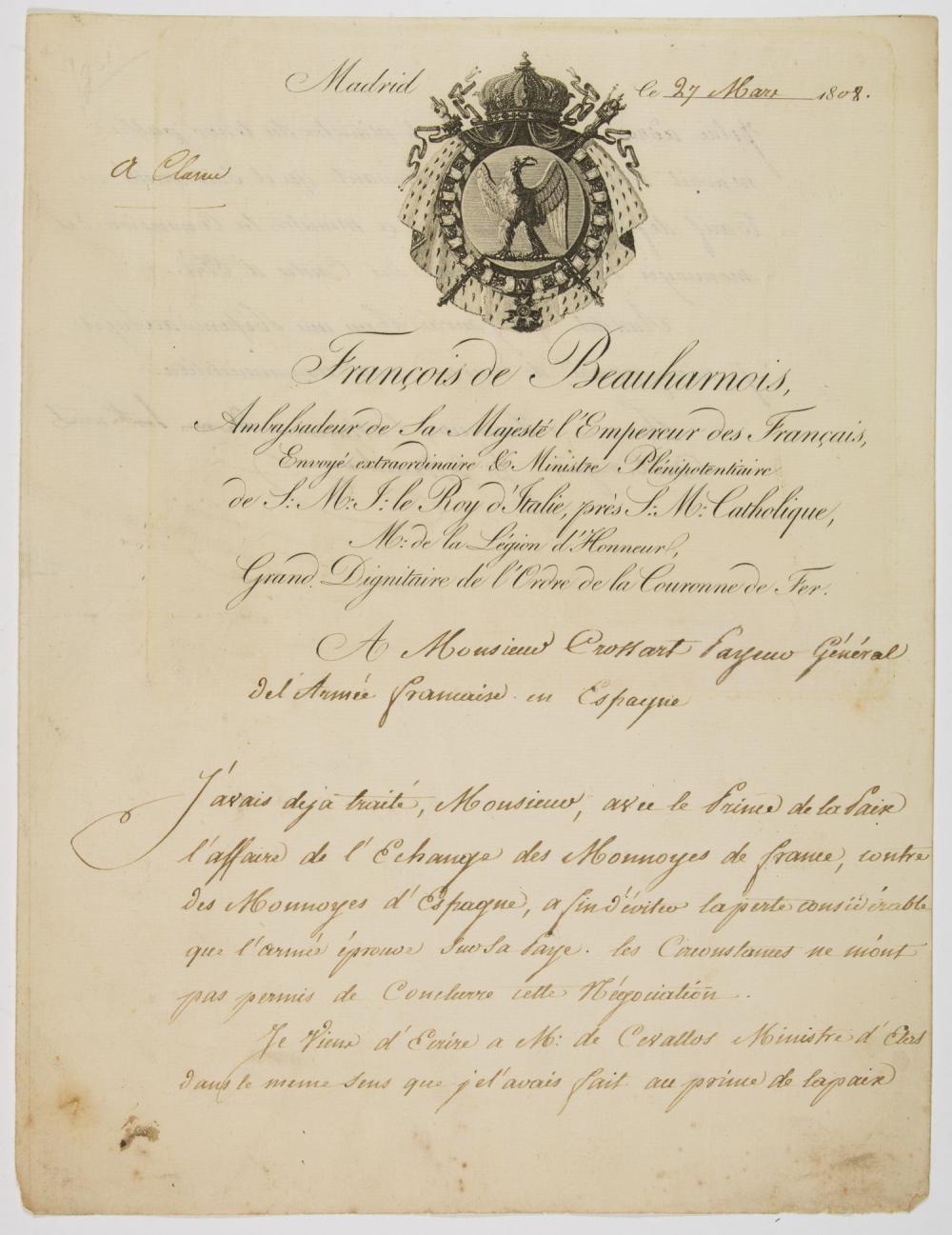 FRANCIS VI OF BEAUHARNAIS