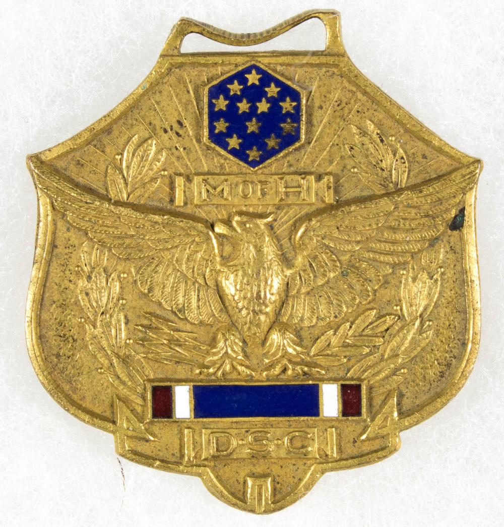 INTIRIM MEDAL OF HONOR OF OSCAR F. LONG