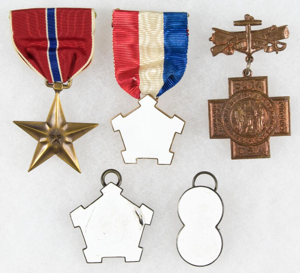 MISCELLAEOUS MEDAL GROUPING
