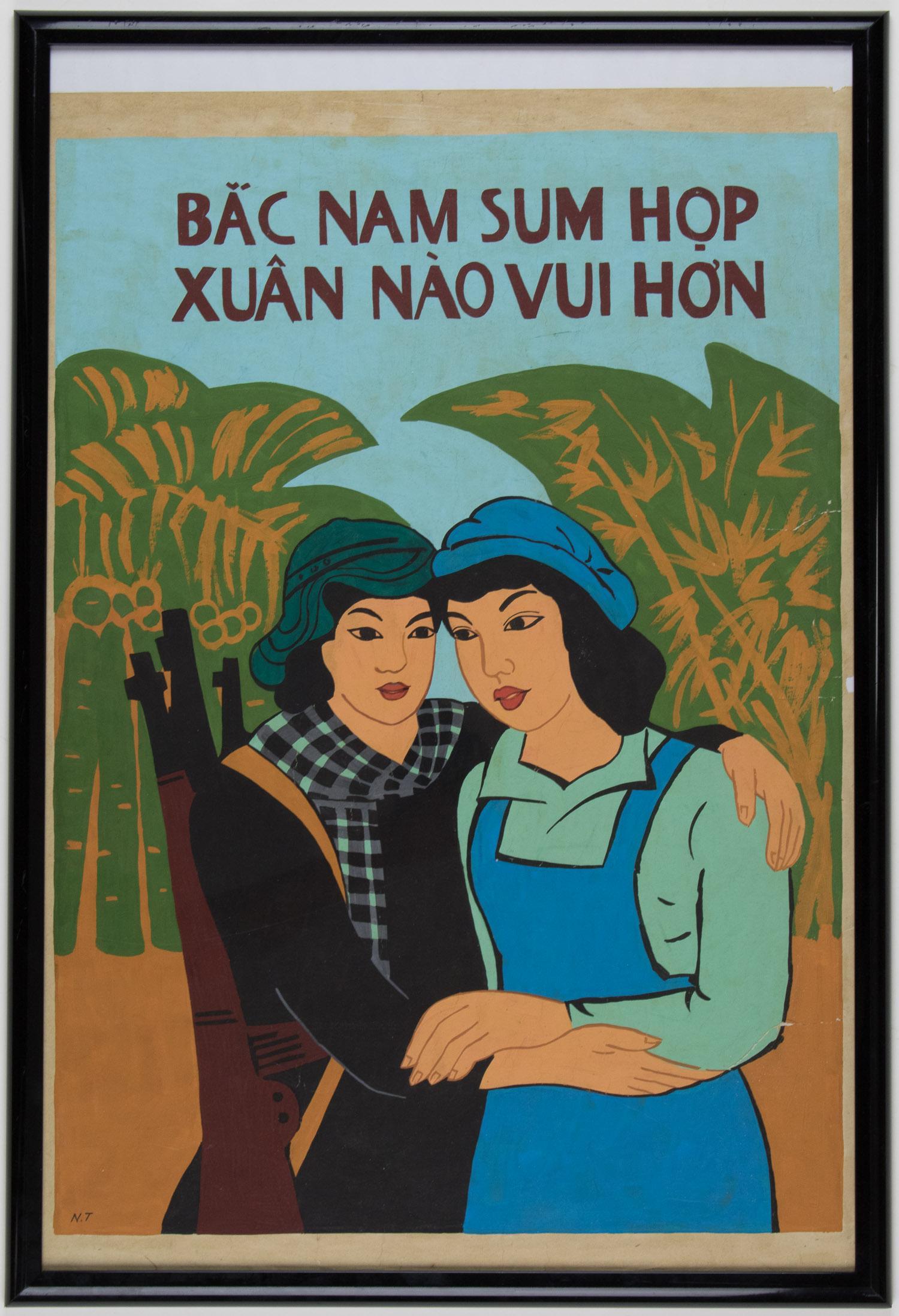 VIETNAM UNIFICATION POSTERS