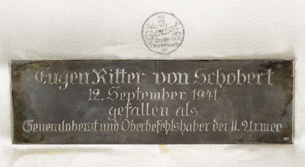 THE MILITARY MEDALS OF GEN. EUGEN VON SCHOBERT, K.I.A. EASTERN FRONT
