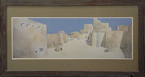 James Harrill (1929-1996) Pueblo Print