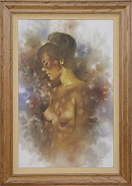 Jim Abeita (b-1947) Original Painting