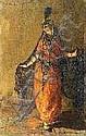 LAURENS Paul Albert (1870/1934). Femme à la robe, Paul Albert Laurens, Click for value