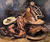 Jose Vives-Atsara   Texas Stilllife, Jose Vives-Atsara, Click for value