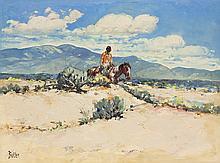 James Butler | Pleasant Day Near Taos