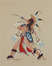 Woody Crumbo | Fancy Dancer with Bone Whistle