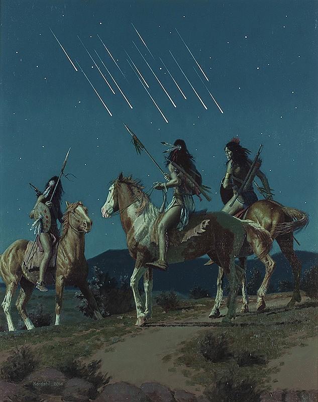 David Nordahl   Meteor Shower