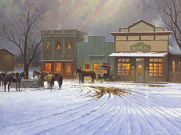George Kovach | Winters Day's End