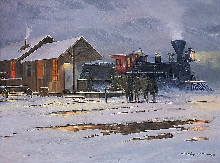 George Kovach | Winter's Journey