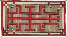 Hubbell Revival Navajo Rug