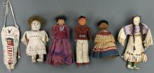 Lot of 6 Dolls
