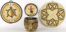 Hopi Baskets - Lot of 4