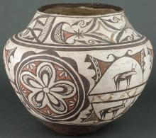 Zuni Polychrome Jar
