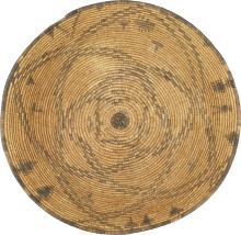 Apache Basket Tray with Circular Design