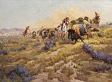 Ted Long | Buffalo Hunt