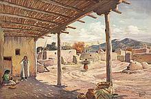 Granville Bruce | Indian Pueblo Village