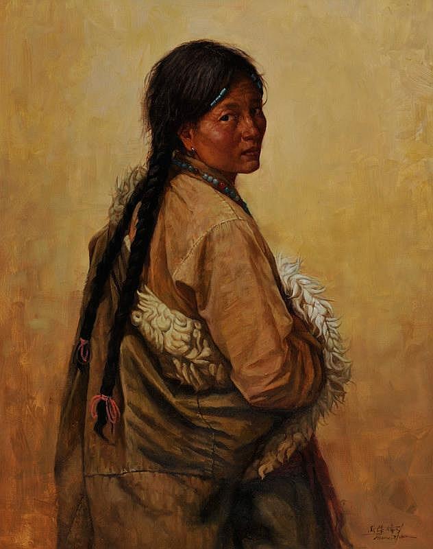 Jie-Wei Zhou: Tibetan in Robe