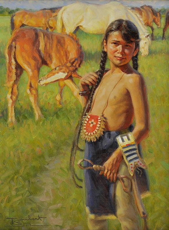 Tom Saubert: Sioux Colt
