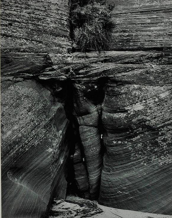 Jay Dusard: Crucifix, Waterholes Canyon Arizona 1981
