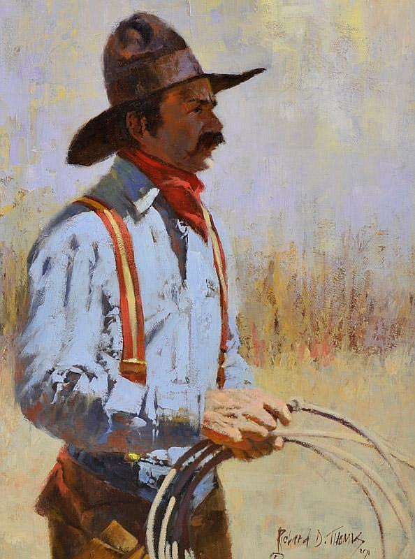 Richard Thomas: Mike D - Cowboy