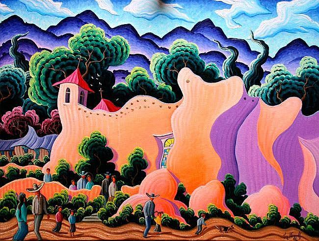 Kim Douglas Wiggins: Ranchos in Spring