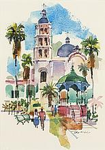 Tom Hill | b. 1925 ANA, AWS Alamos Plaza