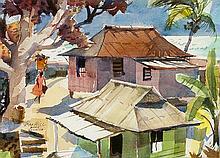 Tom Hill | b. 1925 ANA, AWS Rural Jamaica
