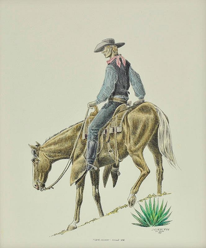 Texas Cowboy - Around 1890