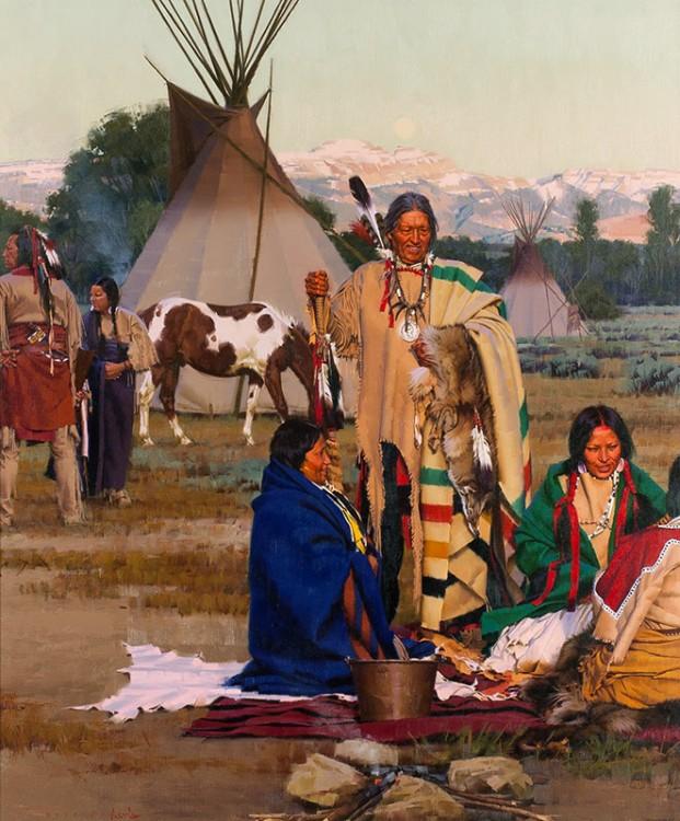 области американские индейцы стан фото данные