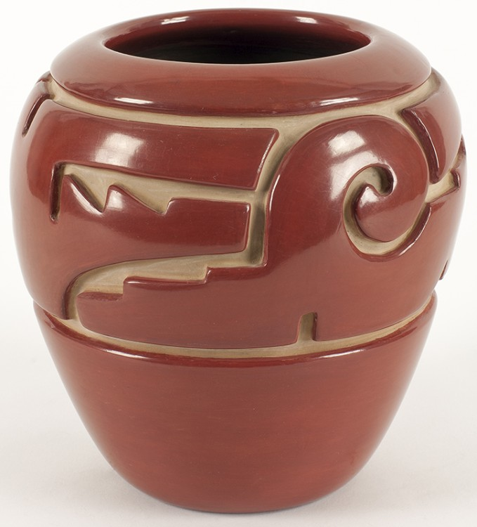 Jennie Trammel | Red Pot